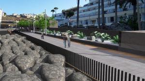 Promenade between Arguineguin and AnfiBeach